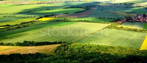 чешский центральный гор пейзаж горные лет Сток-фото © hamik