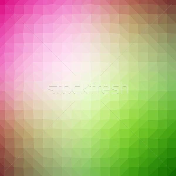 Absztrakt színes terv háttér művészet zöld Stock fotó © hamik