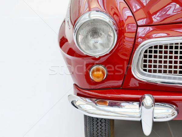 Vermelho ver clássico vintage Foto stock © hamik