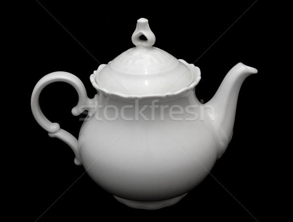Porcelain teapot Stock photo © hamik