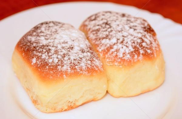 自家製 甘い 粉砂糖 食品 グループ ストックフォト © hamik