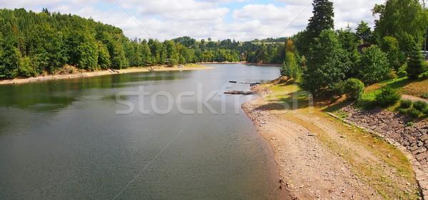 Pastviny dam, Czech Republic. Stock photo © hamik