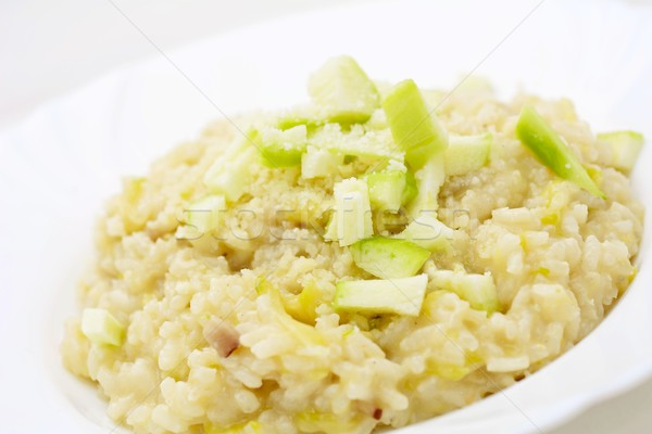 Zucchini Risotto Stock photo © hamik