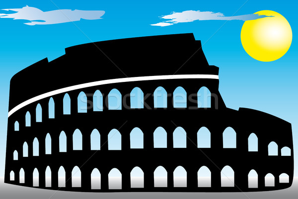 Rome Coliseum Stock photo © hamik