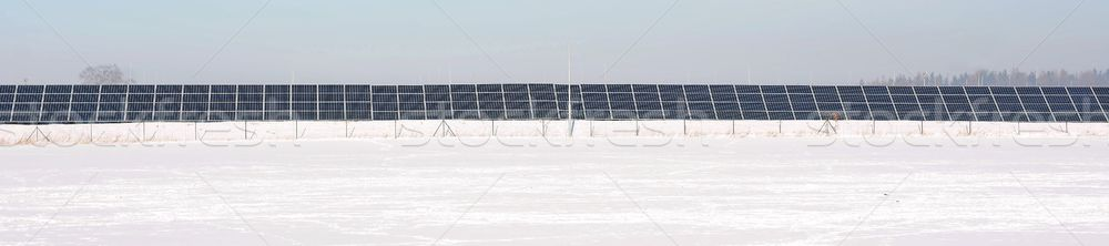 Solar power station Stock photo © hamik