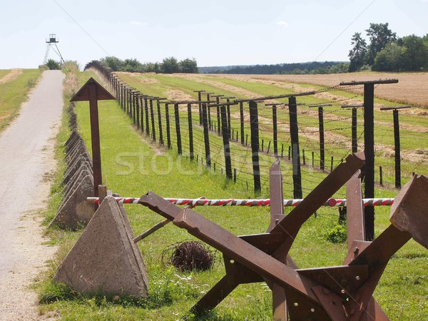 Communism iron curtain Stock photo © hamik
