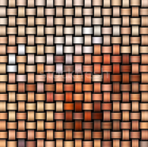 Intertwined abstract background Stock photo © hamik