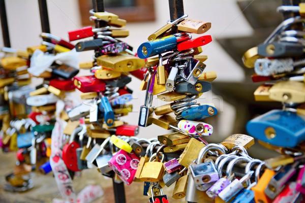 The locks of love Stock photo © hamik