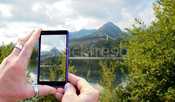 Taking a photo  Stock photo © hamik