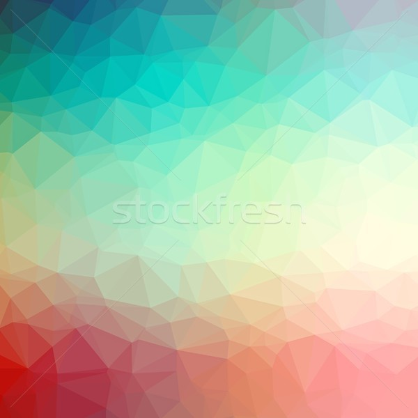 Polygonal colorful background Stock photo © hamik