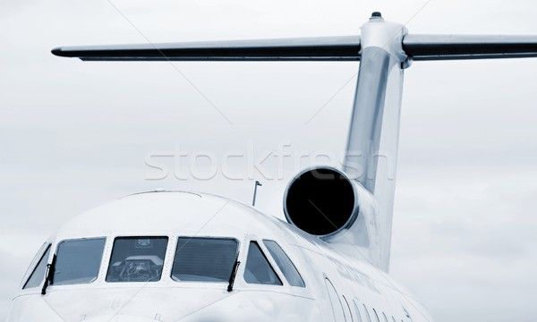 Jet airplane Stock photo © hamik