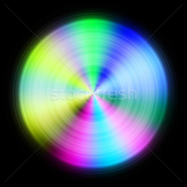 красочный диска черный иллюстрация фон Сток-фото © hamik