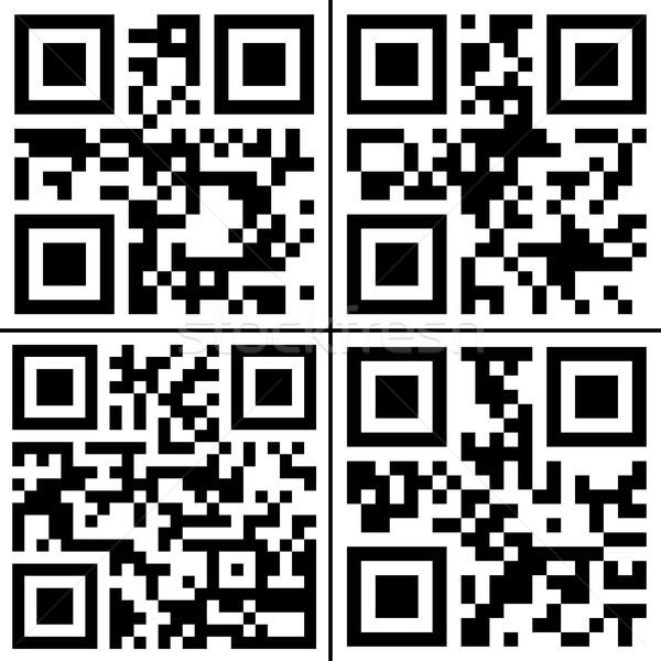 QR codes collection Stock photo © hamik