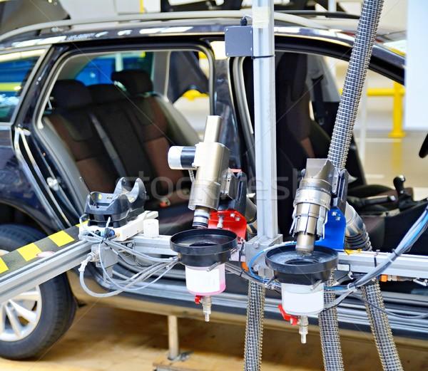 Machine at car factory Stock photo © hamik