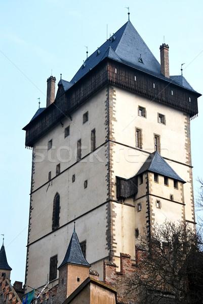 The tower of Karlstejn castle.  Stock photo © hamik