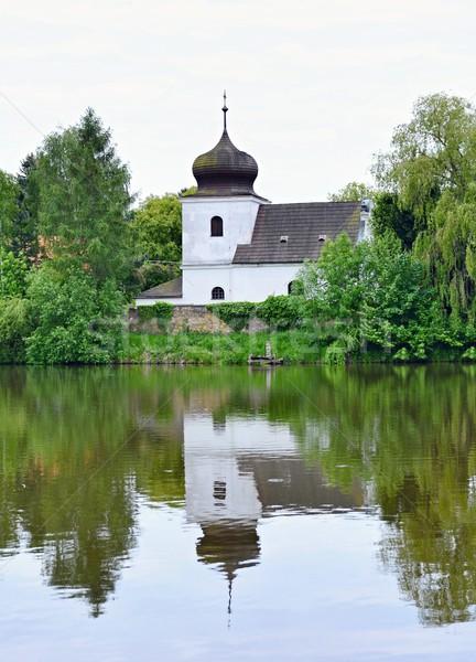 Church of St. Nicholas Stock photo © hamik