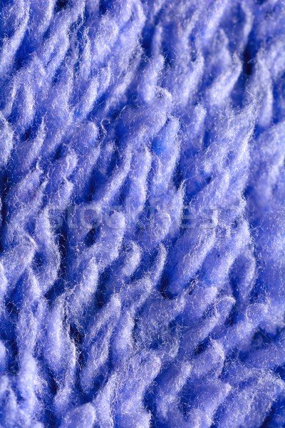 Blue textile fibres Stock photo © hamik