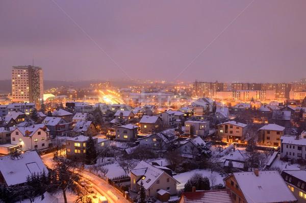 Night city Stock photo © hamik