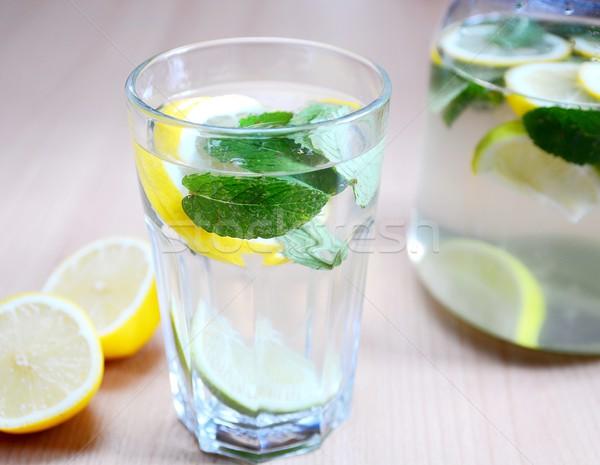Fresh lemon drink Stock photo © hamik