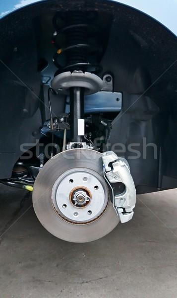 Close-up of a car disc brake Stock photo © hamik