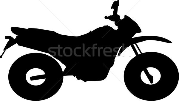 Motocross bike Stock photo © hamik