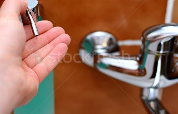 Soap Dispensing Stock photo © hamik