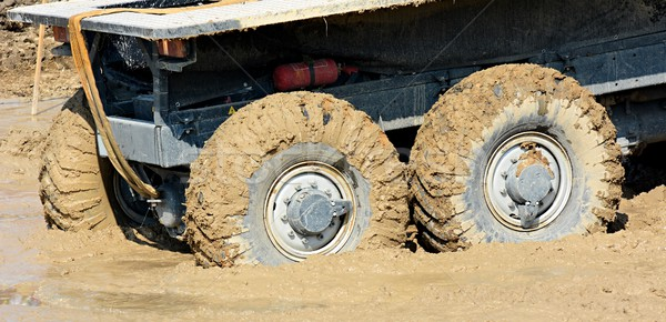Stock photo: Off Road Wheels