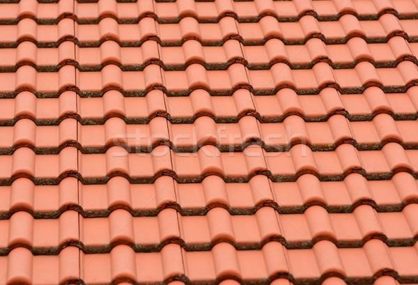 Roof tile background Stock photo © hamik