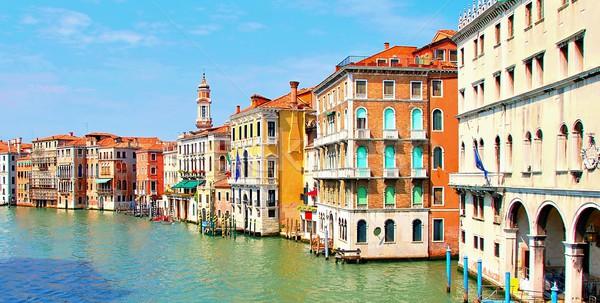 Venice Grand canal Stock photo © hamik