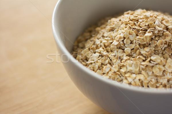 Uncooked rolled oats Stock photo © handmademedia