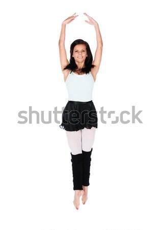 Female modern dancer Stock photo © handmademedia