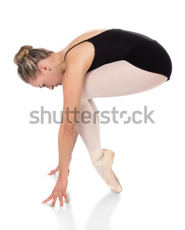 Female ballet dancer Stock photo © handmademedia