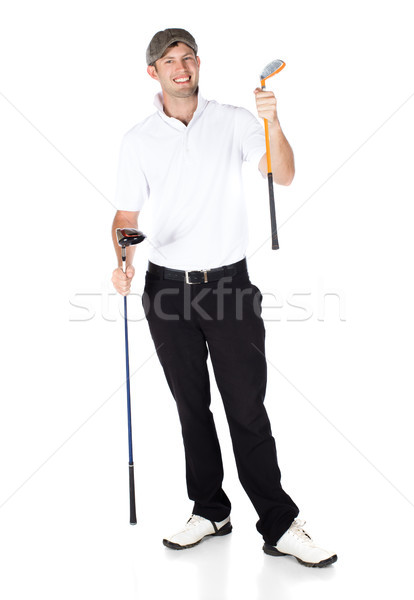 Professional golf player Stock photo © handmademedia