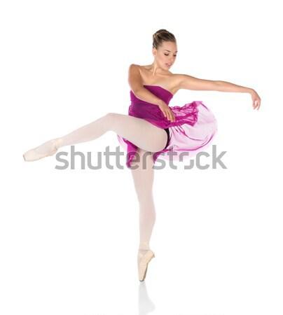Female ballet dancer Stock photo © handmademedia