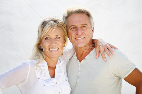 Stock photo: Happy mature couple