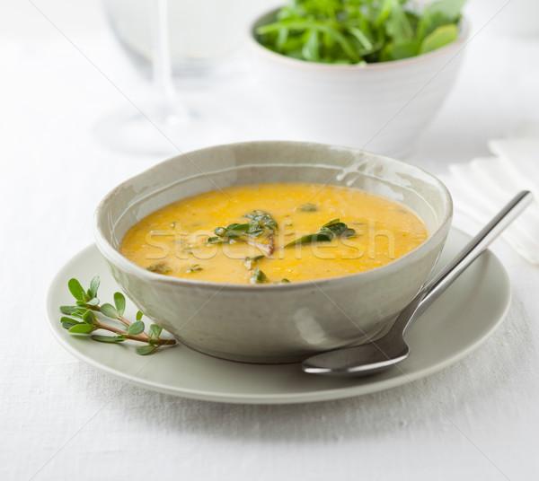 Leves tál gazdag omega3 étel Stock fotó © hansgeel