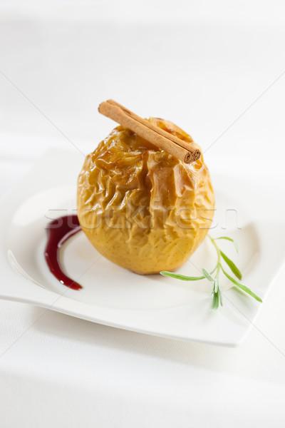 Pomme dessert stock Photo stock © hansgeel