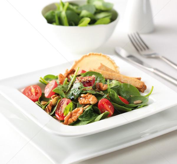 Spinach salad Stock photo © hansgeel