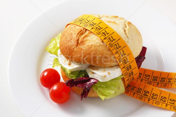 вегетарианский сэндвич смешанный Салат Сток-фото © hansgeel