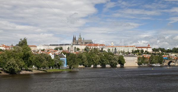 The Prague Castle Stock photo © hanusst