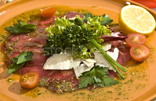 Carpaccio Mexican speciality Stock photo © hanusst