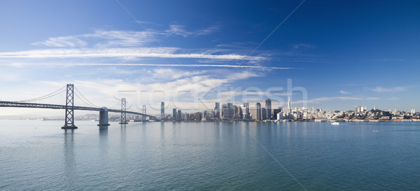 San Francisco panorama affaires eau ville rue Photo stock © hanusst