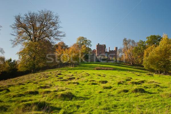 Large pastureland in Wales Stock photo © hanusst