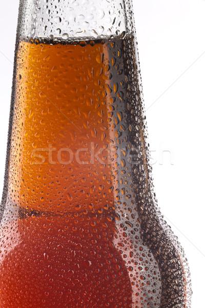 Bouteille bière détail lumière Photo stock © hanusst