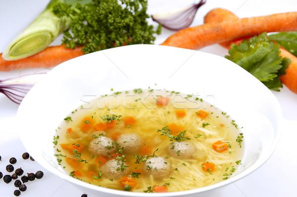 Noodle soup Stock photo © hanusst