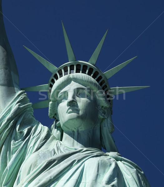 像 自由 ニューヨーク市 青 旅行 正義 ストックフォト © hanusst