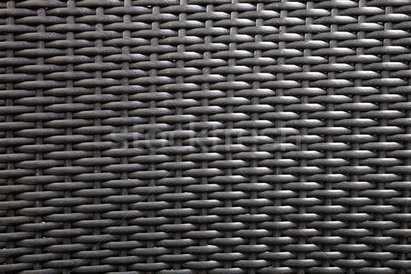 Synthetic rattan texture weaving background Stock photo © hanusst