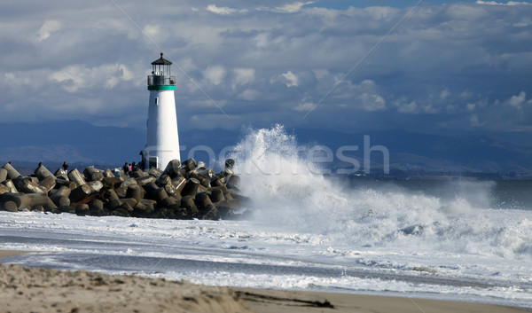 Stock photo: Santa Cruz Walton Lighthouse