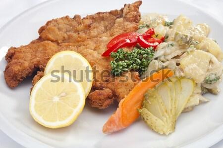Вена овощей картофеля Салат белый травы Сток-фото © hanusst