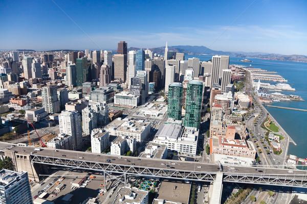 San Francisco centro da cidade Califórnia negócio edifício cidade Foto stock © hanusst
